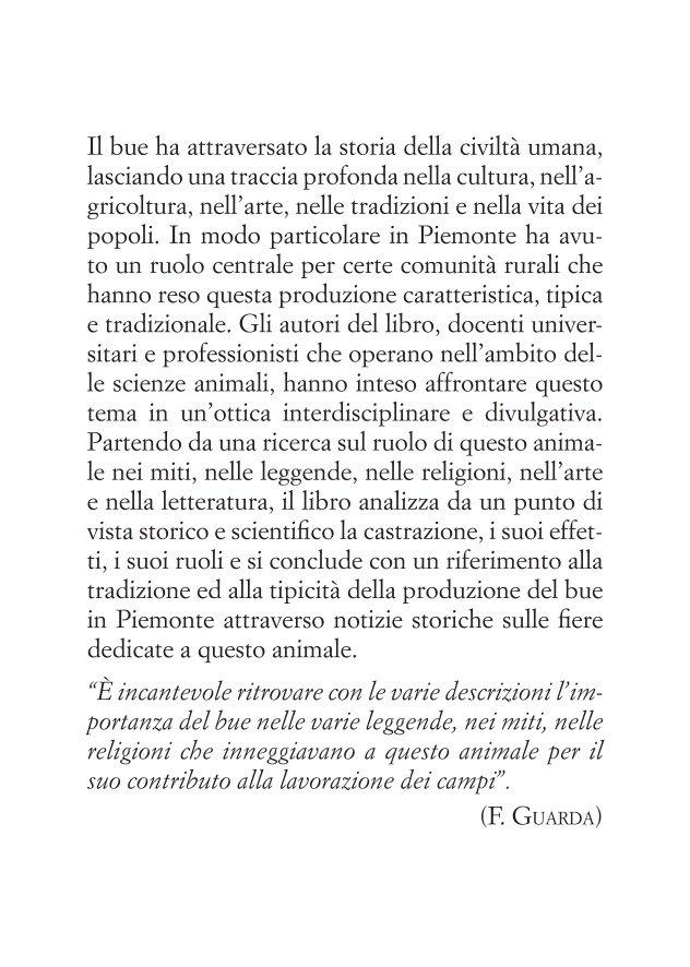 """Il bue nella storia dell'uomo e nelle tradizioni del Piemonte"""""""